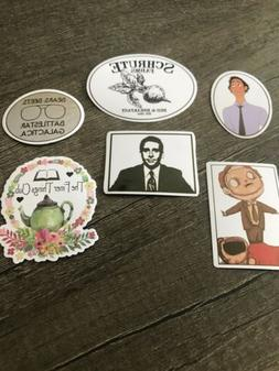 The Office Sticker Pack Of 6