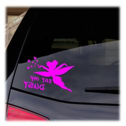 Tinkerbell - Eat My Dust, Disney Cartoons Car Window Laptop