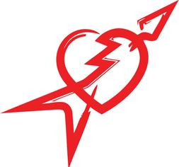 Tom Petty & the Heartbreakers vinyl decal sticker laptop rec