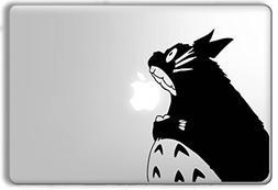 Totoro Eating Apple My Neighbor Totoro - Apple Macbook Lapto