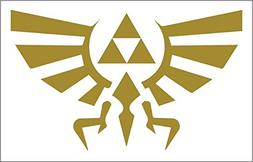 Triforce 8x5 Inch High Quality Out Door Vinyl Decal For Lapt