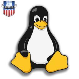 tux linux penguin cute sticker decal phone