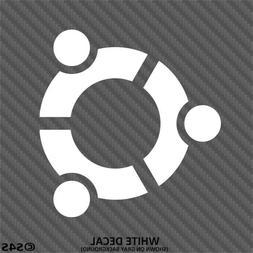 Ubuntu Linux Logo Car/Truck/Laptop Vinyl Decal Sticker - Cho