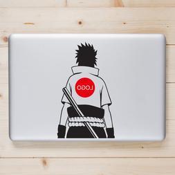Uchiha Sasuke Back <font><b>Laptop</b></font> Decal for Macb
