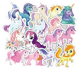 33 Pcs Unicorn Laptop Stickers Girl Cute Waterproof Skateboa