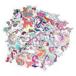 FNGEEN Unicorns Stickers  Cute Laptop Stickers Pack Vinyl Wa