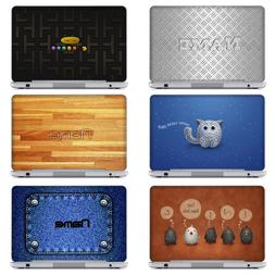 Unique Laptop Notebook Skin Sticker w. Customized Name For D