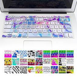 Allytech Unique Pattern Series Keyboard Cover Silicone Skin