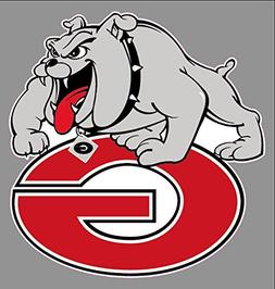 "University of Georgia Bulldogs Sticker Pack | 6"" x 5.77"" Siz"