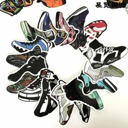 US SELLER- 100 notebook laptop vinyl sticker sports shoes