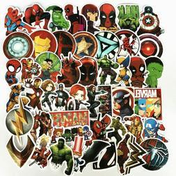US Stock - 25 Pcs/Lot Stickers MARVEL Avengers Super Hero DC