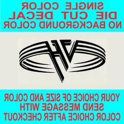 Van Halen Rock Band Die Cut vinyl decal car truck window lap