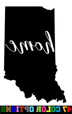 Vinyl Decal Truck Car Sticker Laptop - Home State Outline Lo