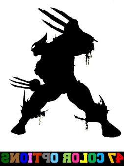 Vinyl Decal Truck Car Sticker Laptop - Marvel X-Men Logan Wo