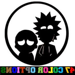 Vinyl Decal Truck Car Sticker Laptop - Rick And Morty Circle