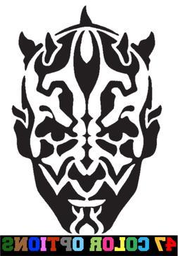 Vinyl Decal Truck Car Sticker Laptop - Star Wars Sith Darth