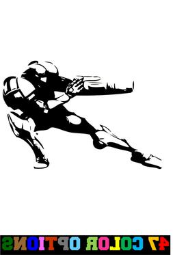 Vinyl Decal Truck Car Sticker Laptop - Video Games Metroid S