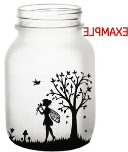 Vinyl Fairy Silhouette Decal/ Wall/Laptop/Tablet /Car Decal/