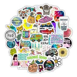 50 Funny Stickers Cute Trendy Aesthetic Waterproof Bottles L