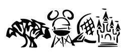 Walt Disney World Parks Mickey Mouse Vinyl Decal Sticker Car