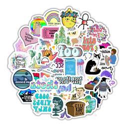 Waterbottle Sticker Pack VSCO Girls Teens Cute Aesthetic Lap