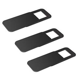 3 Pack Webcam Cover, Dostyle Ultra-Thin Web Camera Cover Sli