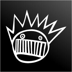 ween boognish vinyl decal car window laptop