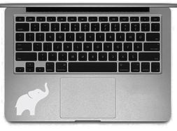 White Elephant Laptop Decal - MacBook Sticker Removable Viny