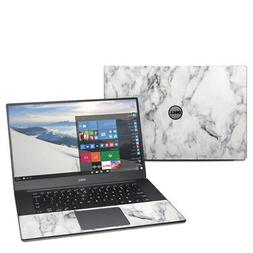 White Marble Decal Sticker Skin for Dell XPS 15 9550 9560 La