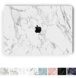 Koru Premium White Marble Vinyl Decal Skin Sticker Case Cove