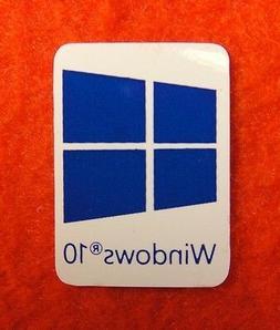 Windows 10 Sticker Logo for laptop desktop PC -Deep Blue