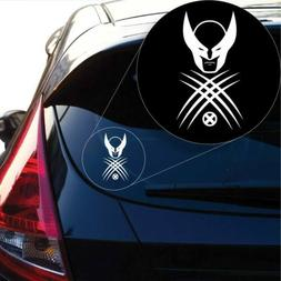 Wolverine X Men Decal Sticker for Car Window, Laptop and Mor