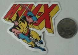 X-men sticker  wolverine  marvel comics skate cell laptop -