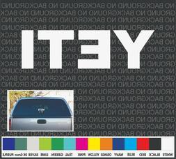 "YETI  Boat Cooler Car Truck Window Decal Sticker Laptop 9"""