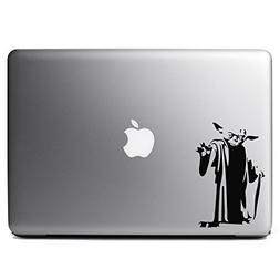 yoda star wars inpsired force vinyl sticker laptop iphone ce