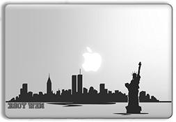 New York Skyline - Apple Macbook Laptop Vinyl Sticker Decal