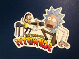 Rick And Morty You Gotta Get Schwifty! Luggage Laptop Vinyl