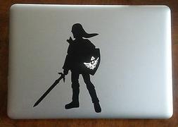 Zelda Link Vinyl Sticker Decal Macbook Pro window laptop USA