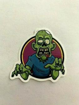 Zombie Sticker Waterproof Horror Realistic Cartoon Vinyl Dec